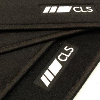 Tapetes Mercedes CLS C218 Coupé (2011 - 2014) à medida logo