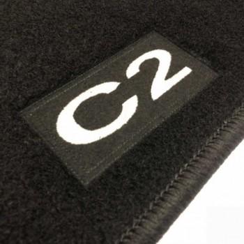 Tapetes Citroen C2 à medida Logo