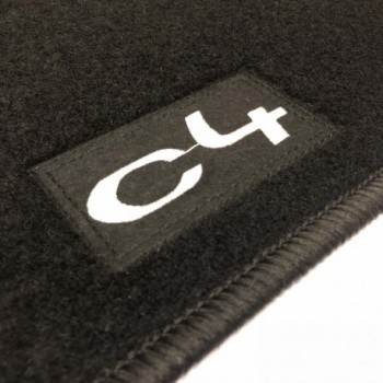 Tapetes Citroen C4 (2004 - 2010) à medida Logo