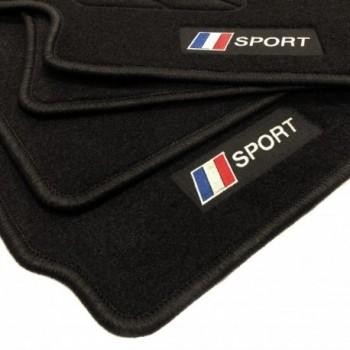 Tapetes flag França Peugeot 5008 5 bancos (2017 - atualidade)