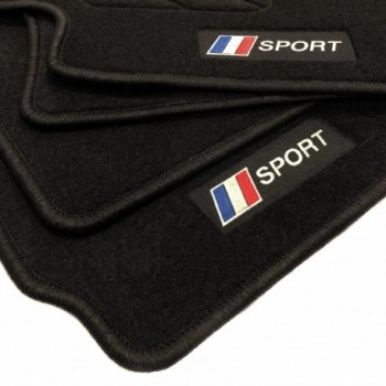 Tapetes flag França Peugeot 5008 7 bancos (2017 - atualidade)