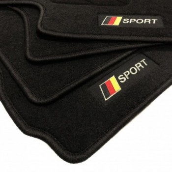 Tapetes flag Alemanha Seat Ibiza 6L (2002 - 2008)