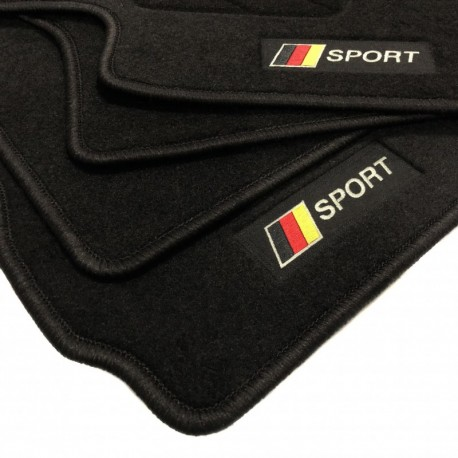 Tapetes flag Alemanha Volkswagen Polo 9N3 (2005 - 2009)