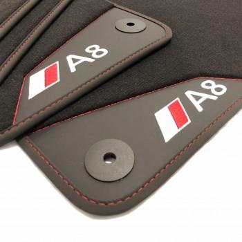 Tapetes para o automóvel Audi A8 D3 / 4E (2003-2010)