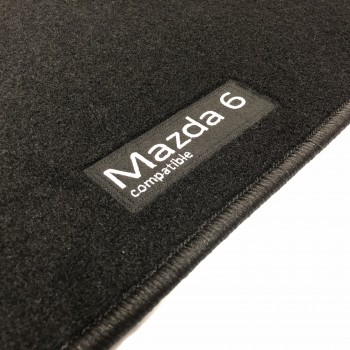 Tapetes Mazda 6 (2008 - 2013) à medida Logo