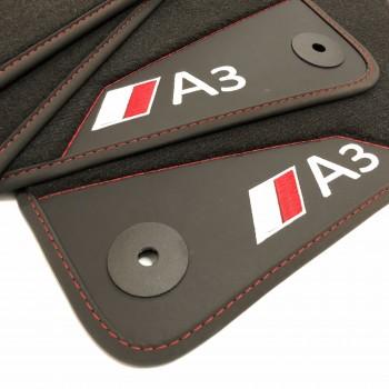Tapetes para o automóvel Audi A3 8V7 cabriolet (2014 - atualidade)