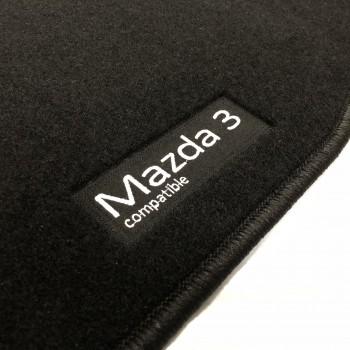 Tapetes Mazda 3 (2013 - 2017) à medida Logo