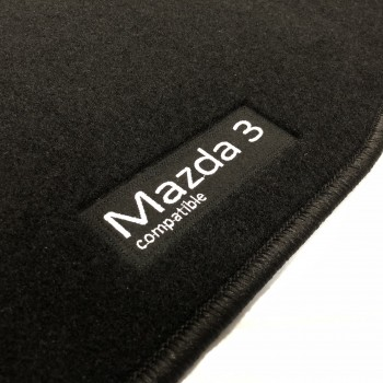 Tapetes Mazda 3 (2017 - 2019) à medida Logo