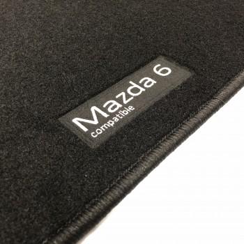 Tapetes Mazda 6 Wagon (2017 - atualidade) à medida Logo