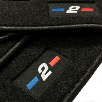 Tapetes BMW Série 2 F23 cabriolet (2014 - atualidade) à medida logo