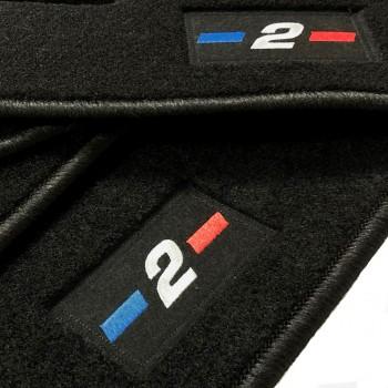 Tapetes BMW Série 2 F22 Coupé (2014 - atualidade) à medida logo
