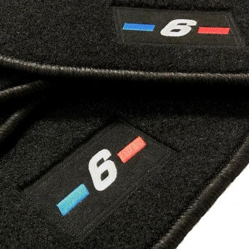 Tapetes BMW Série 6 GT à medida logo