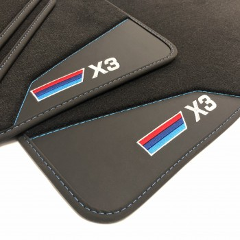 Tapetes para o automóvel BMW X3 G01 (2017 - atualidade)