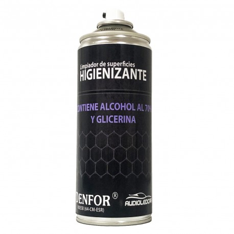 Sprays Higienizante 400ml - Limpador de superfícies, protege os teus