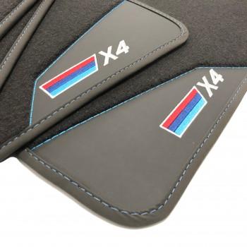 Tapetes para o automóvel BMW X4 (2014-2018)