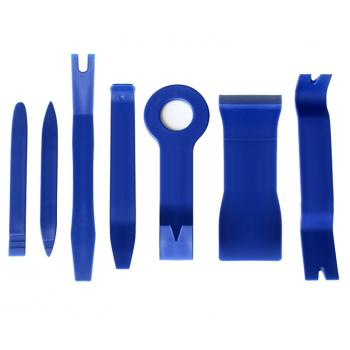 Kit de ferramentas para desmontagem do carro (grampos, interiores, plásticos, painéis, painéis e luzes)
