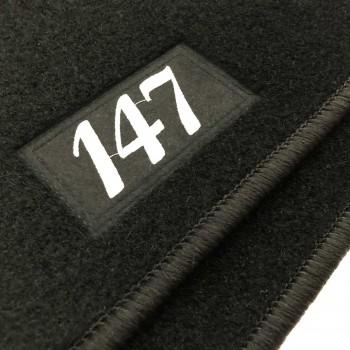 Tapetes Alfa Romeo 147 à medida Logo