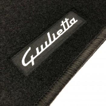 Tapetes Alfa Romeo Giulietta (2010 - 2014) à medida Logo