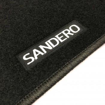 Tapetes Dacia Sandero Restyling (2017 - atualidade) à medida Logo