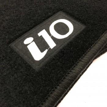 Tapetes Hyundai i10 (2008 - 2011) à medida Logo