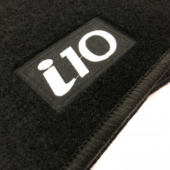 Tapetes Hyundai i10 (2013 - atualidade) à medida Logo