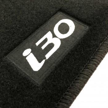 Tapetes Hyundai i30 5 portas (2007 - 2012) à medida Logo