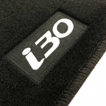 Tapetes Hyundai i30 Coupé (2013 - atualidade) à medida Logo