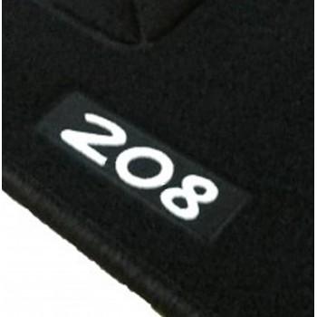 Tapetes Peugeot 208 à medida Logo (2012-2019)