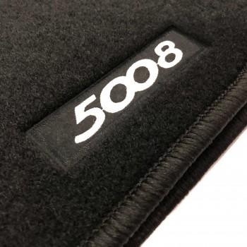 Tapetes Peugeot 5008 7 bancos (2017 - atualidade) à medida Logo