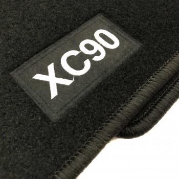 Tapetes Volvo XC90 7 bancos (2002 - 2015) à medida Logo