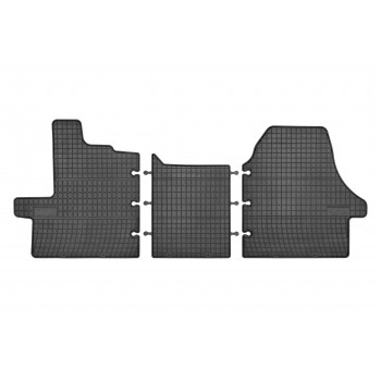 Tapetes Citroen Jumper 2 Tapetes dianteiras (2006-2014) borracha