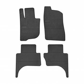 Tapetes Mitsubishi L200 cabina dupla (2016-atualidade) borracha