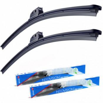 Kit de escovas limpa-para-brisas Saab 9-3 5 portas (1998 - 2003) - Neovision®