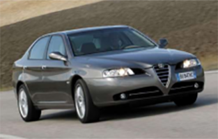 Tapetes Alfa Romeo 166 (2003 - 2007) Excellence