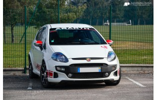 Tapetes exclusive Fiat Punto Abarth Evo 3 bancos (2010 - 2014)