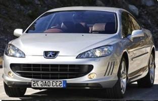 Protetor de mala reversível Peugeot 407 Coupé (2004 - 2011)
