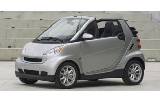 Tapetes exclusive Smart Fortwo A451 cabriolet (2007 - 2014)