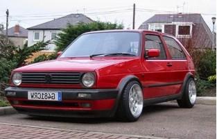 Protetor de mala reversível Volkswagen Golf 2