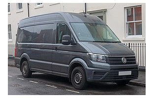 Tapetes Volkswagen Crafter 2 (2017-atualidade) veludo GTI