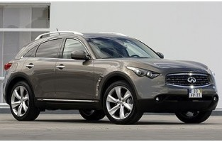 Tapetes exclusive Infiniti FX FX37 / FX30d / FX50 (2009 - atualidade)