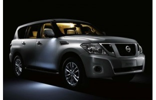 Tapetes bege Nissan Patrol Y62 (2010 - atualidade)